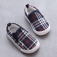 รองเท้าผ้าใบ-Canvas-Burberry-สีกรม