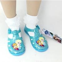 รองเท้ายางรัดส้นเจ้าหญิง-Frozen-สีฟ้า
