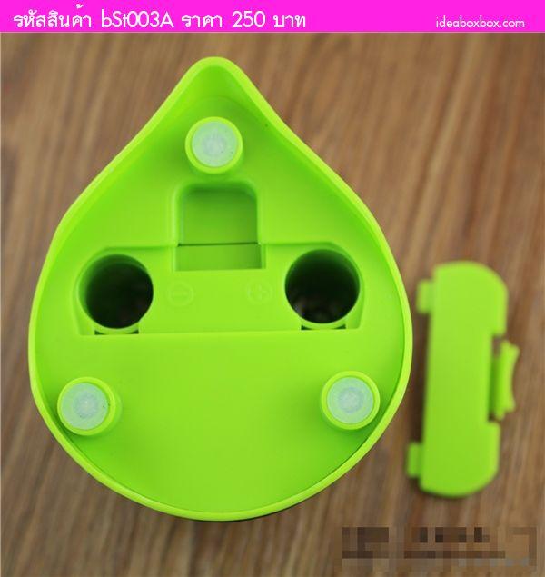 กบเหลาดินสอไฟฟ้า อัตโนมัติ ไดโนเสาร์ สีเขียว