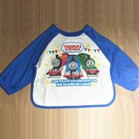 ผ้ากันเปื้อนแขนยาวลาย-Thomas-สีฟ้า