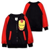 Jacket-เด็ก-IRONMAN-สุดเท่-สีแดงดำ