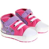 รองเท้าเด็กหัดเดิน-Kitty-Mushroom-สีม่วงชมพู