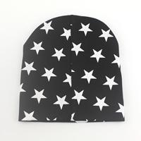 หมวกเด็กลายดาวเท่เท่-สีดำ
