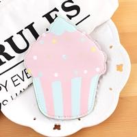 กระเป๋าใส่เหรียญ-Cupcakes-สีชมพู