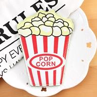 กระเป๋าใส่เหรียญ-Popcorn-สีแดงเหลือง