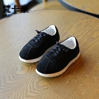 รองเท้าเด็กสไตล์คุณหนูลายดาว-Sport-Sport-สีดำ