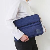 กระเป๋าใส่โน้ตบุ๊กหรือ-Tablet-แบบถือ-15-นิ้ว-สีกรม