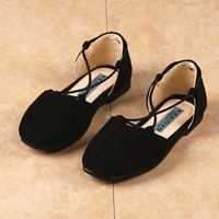 รองเท้าคัทชูคุณหนูเบอรรี่-สไตล์โบฮีเมียน-สีดำ