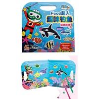 ชุดของเล่นตกปลาแม่เหล็ก-Food-Superman-Fun-Fishing