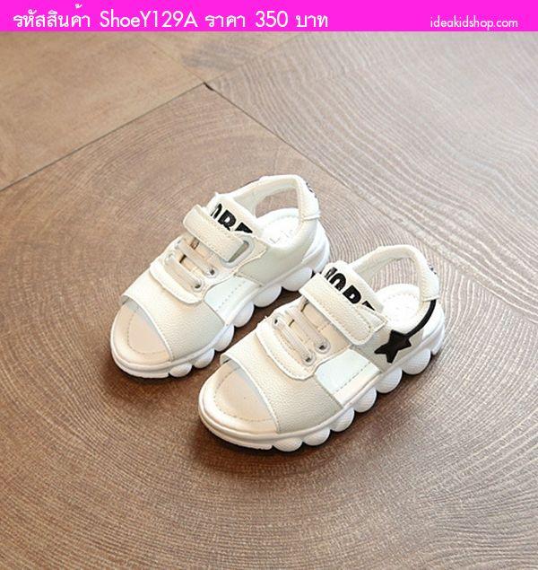 รองเท้ารัดส้นสปอร์ต Two Tone ZOBE 94 สีขาว