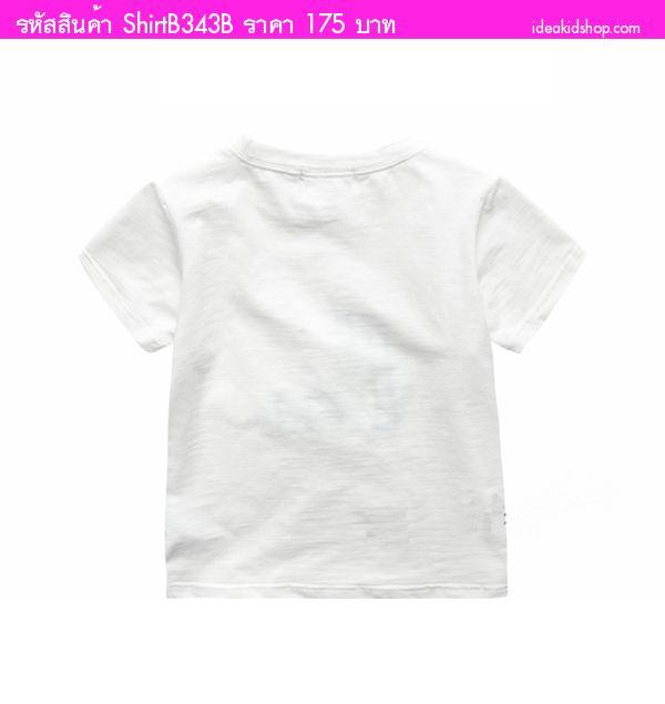 เสื้อยืดหนูน้อย I AM สีขาว
