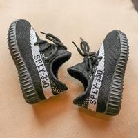 รองเท้าผ้าใบสไตล์-YEEZY-SPLY-350-สีดำขาว