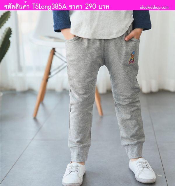 กางเกงวอร์ม Daddy Peppa Pig สีเทา