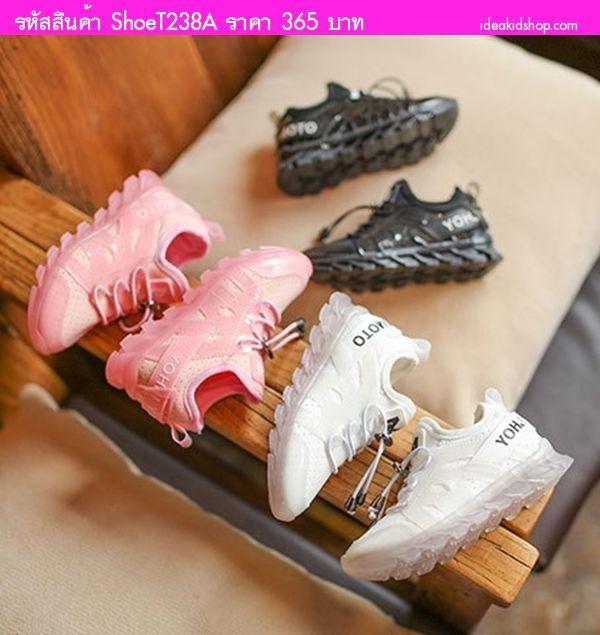 รองเท้าผ้าใบแฟชั่น YOHJI YAMAMOTO สีขาว