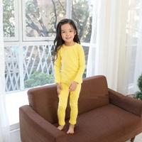 ชุดนอนเด็ก-Super-Casual-สีเหลือง