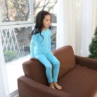 ชุดนอนเด็ก-Super-Casual-สีฟ้า
