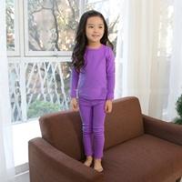 ชุดนอนเด็ก-Super-Casual-สีม่วง