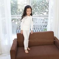 ชุดนอนเด็ก-Super-Casual-สีขาว
