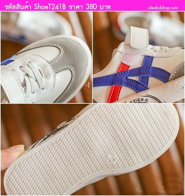 รองเท้าผ้าใบแฟชั่นสไตล์โอนิ 1989 สีดำขาว