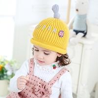 หมวกไหมพรมสุดเท่-Super-Smile-สีเหลือง