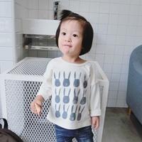 เสื้อแขนยาวแฟชั่นกระต่าย-Moni-Style-สีขาว