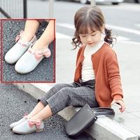 รองเท้าบูทแบบสั้นหนูน้อยยูมิโกะ-ติดโบว์-สีเทา