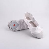 รองเท้าบัลเล่ต์หนูน้อยนักเต้น-สีขาว