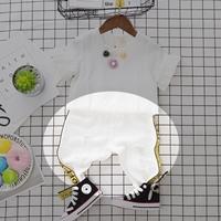 กางเกงยีนส์แฟชั่นขาดหนูน้อยจิม-Off-White-สีขาว