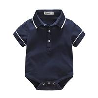 บอดี้สูทสไตล์-Polo-Baby-Cute-สีกรม