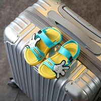 รองเท้ารัดส้น-Scholl-Mickey-MINI-SED-สีเหลือง