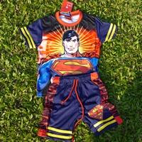 ชุดเสื้อกางเกงมีไฟกระพริบ-Superman