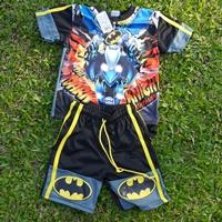 ชุดเสื้อกางเกงมีไฟกระพริบ-Batman