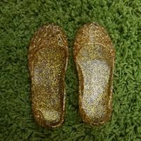 รองเท้ารังนก-ชุดเด็ก-สีทอง