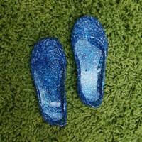 รองเท้ารังนก-ชุดเด็ก-สีน้ำเงิน