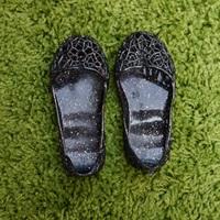 รองเท้ารังนก-ชุดเด็ก-สีดำ