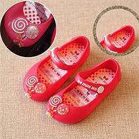 รองเท้าสไตล์-Melissa-อมยิ้มของฉัน-สีชมพู(ตำหนิ)