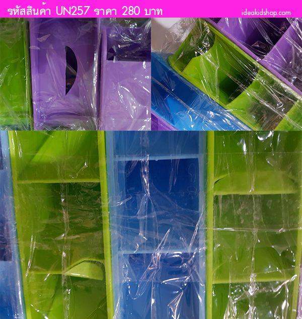 กล่องใส่ของอเนกประสงค์ Pastel (ได้ 10 ใบ)(ตำหนิ)