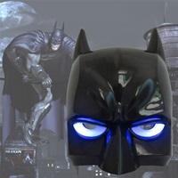 หน้ากากแฟนซี-3D-มีไฟ-แบทแมน-สีดำ