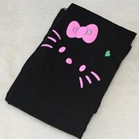 ถุงน่อง-Retro-Kitty-สีดำ