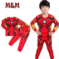 เสื้อและกางเกง-หนูน้อยซุปเปอร์ฮีโร-Ironman-แบบ-C