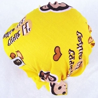 หมวกโพกหัว-Paul-Frank-สีเหลือง