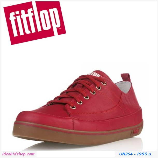 รองเท้า FitFlop Fitflop Ff Supertone Leather Red