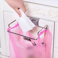 ที่แขวนถุงพลาสติกสแตนเลส-สีเงิน