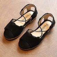 รองเท้ารัดส้น-สไตล์โบฮีเมียน-สีดำ