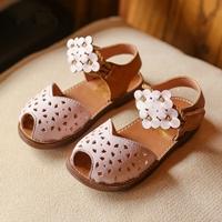 รองเท้ารัดส้นแต่งลายฉลุ-สายคาดดอกไม้-สีขาว