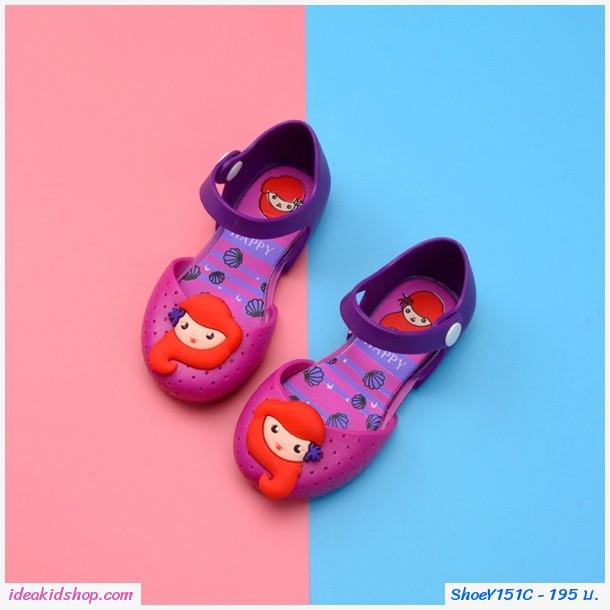รองเท้ารัดส้น เจ้าหญิง Mermaid Melissa สีม่วง
