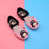 รองเท้ารัดส้นทูโทน-Snow-White-Melissa-สีชมพู