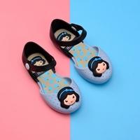 รองเท้ารัดส้นทูโทน-Snow-White-Melissa-สีฟ้า