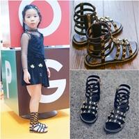 รองเท้าสาน-มินิ-Gladiator--สีดำ