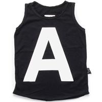เสื้อกล้ามแฟชั่นตัว-A-สีดำ